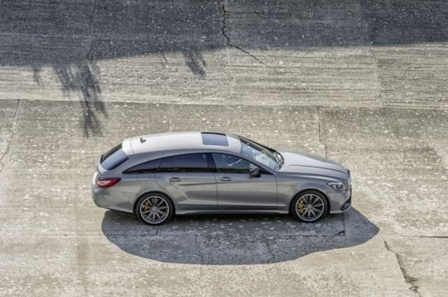 Refreshed Mercedes CLS-Class