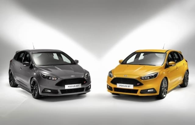 Refreshed Ford Focus ST