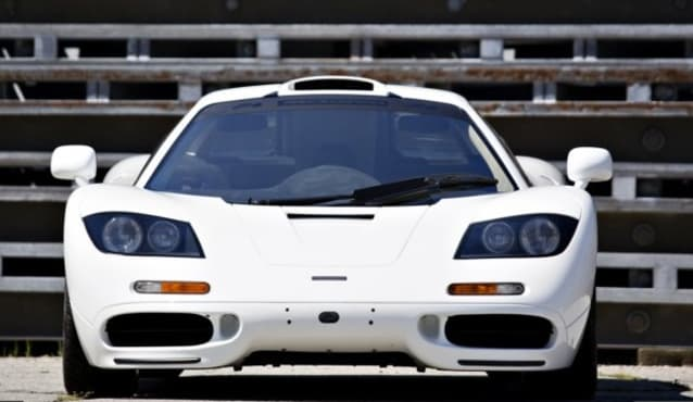 McLaren F1 up for auction