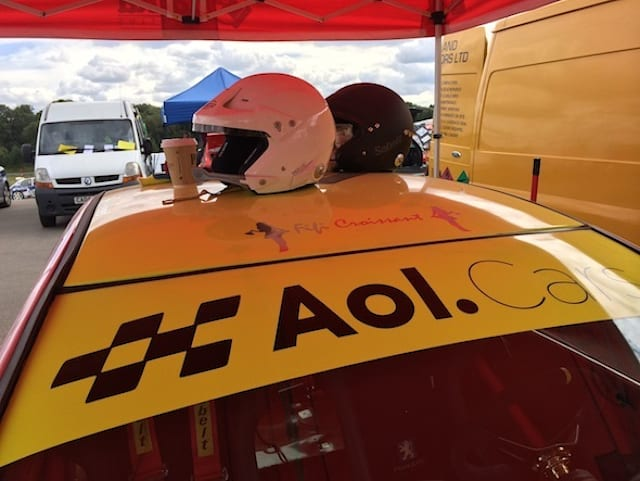 AOL Cars goes rallying at Brands Hatch