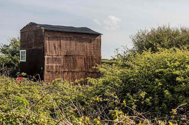 Cornwall's unusual house made from hay