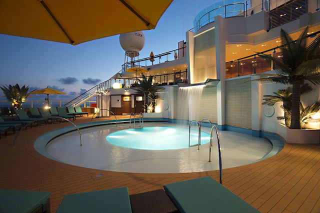 Amazing cruise ship pools