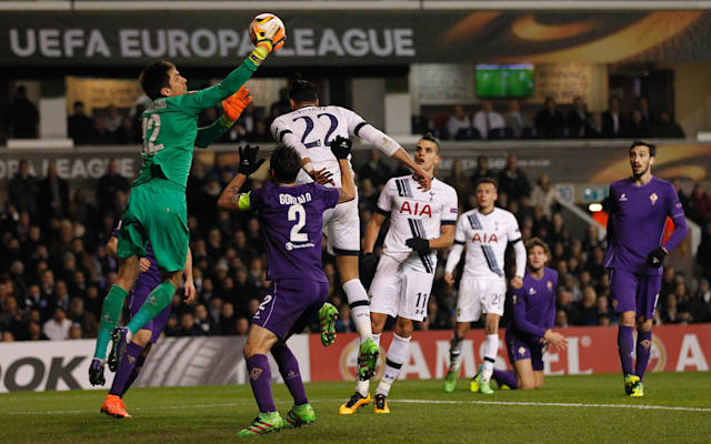 Europa League:  Spurs v Fiorentina