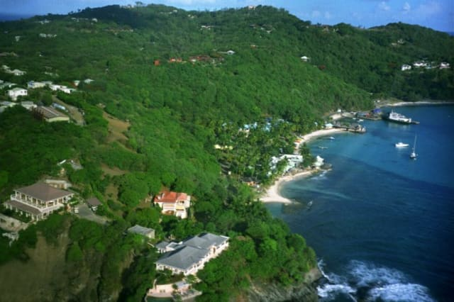 Views of Mustique
