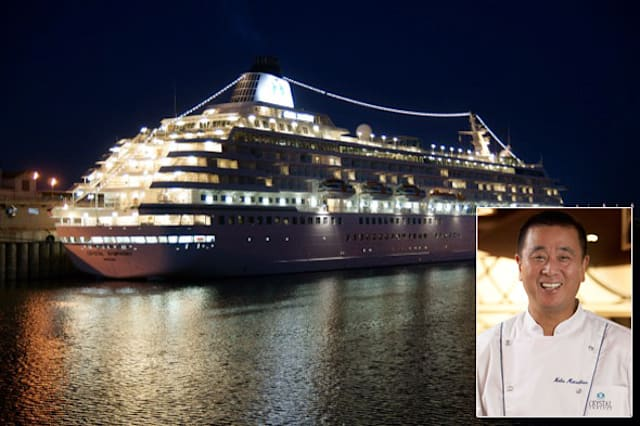 Celebrity chef cruises around the world