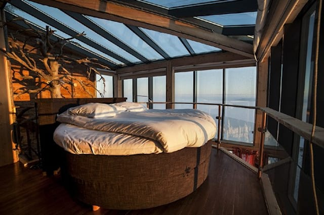 Weird but wonderful treehouse rooms