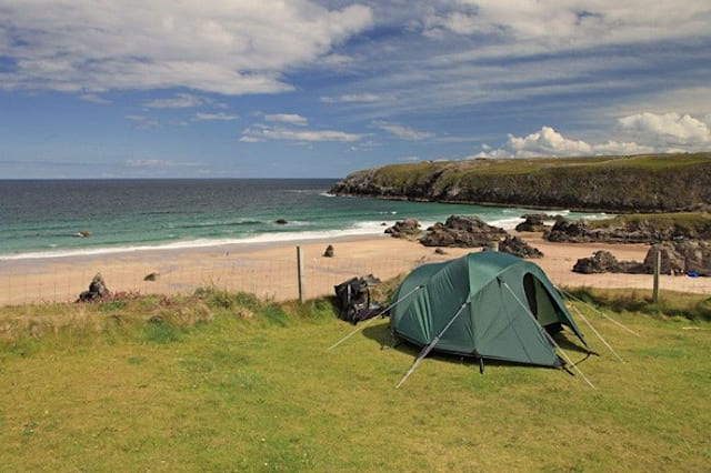 Cool Camping Britain's best views from a tent