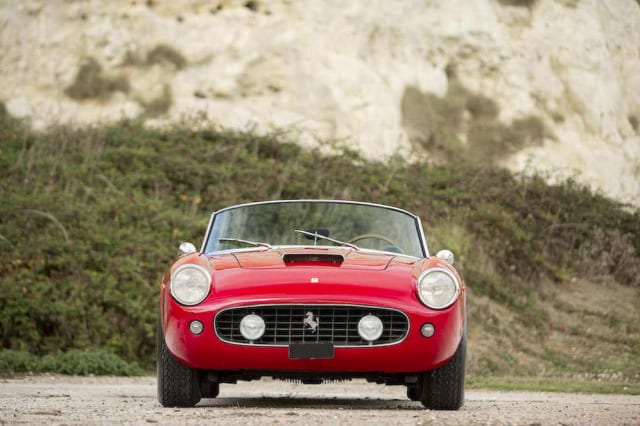 Pristine Ferrari 250 GT California Spyder to go to auction