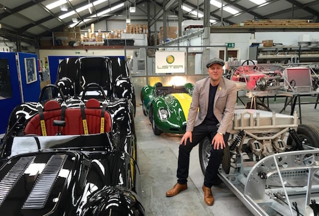 Lister revives the Knobbly racer
