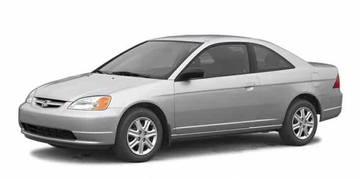 2003 Honda Civic EX 2dr Coupe Specs