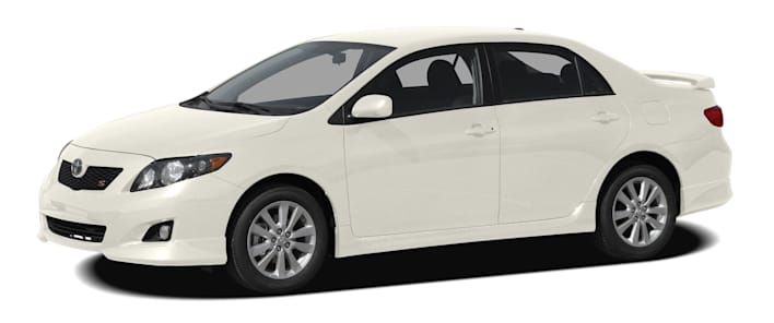 2010 toyota corolla xrs 4dr sedan specs. Black Bedroom Furniture Sets. Home Design Ideas