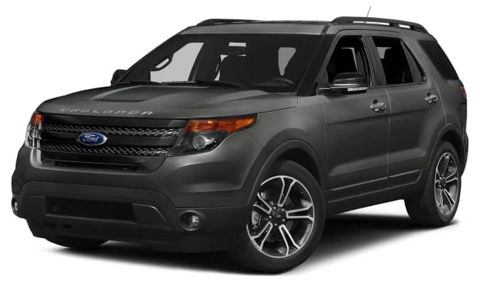 exterior color - Black 2015 Ford Explorer Sport