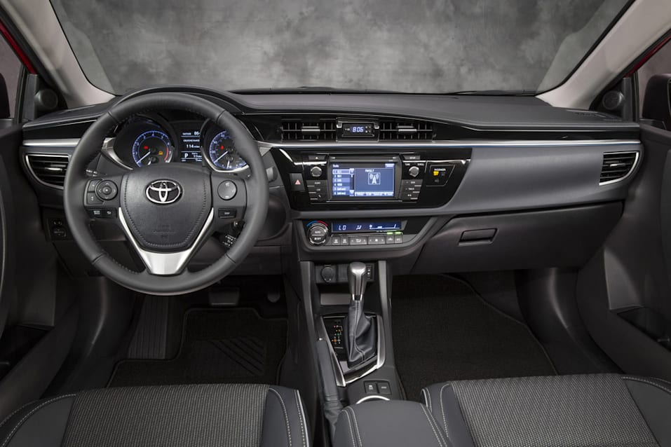 2014 Toyota Corolla Debuts With More Power Interior Space Ign Boards