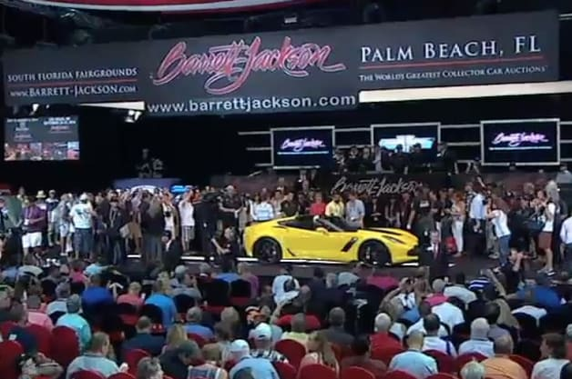 First 2015 Chevy Corvette Z06 Sells For One Million Dollars