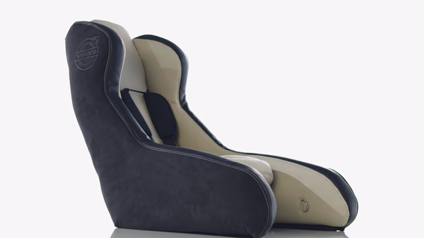 Volvo Develops Inflatable Car Seat