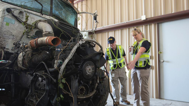 No Sign Distracted Truck Driver Tried To Avoid Fatal Crash