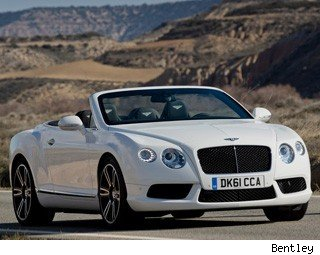 2013 Bentley Continental GTC V8 Test Drive