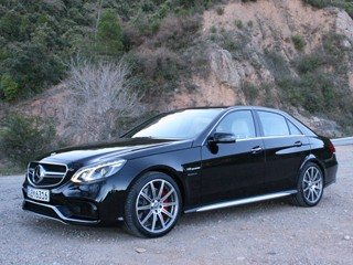 2014 Mercedes-Benz E63 AMG Test Drive