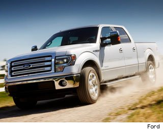 Best Selling Trucks: February 2013