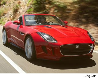 2014 Jaguar F-Type Test Drive