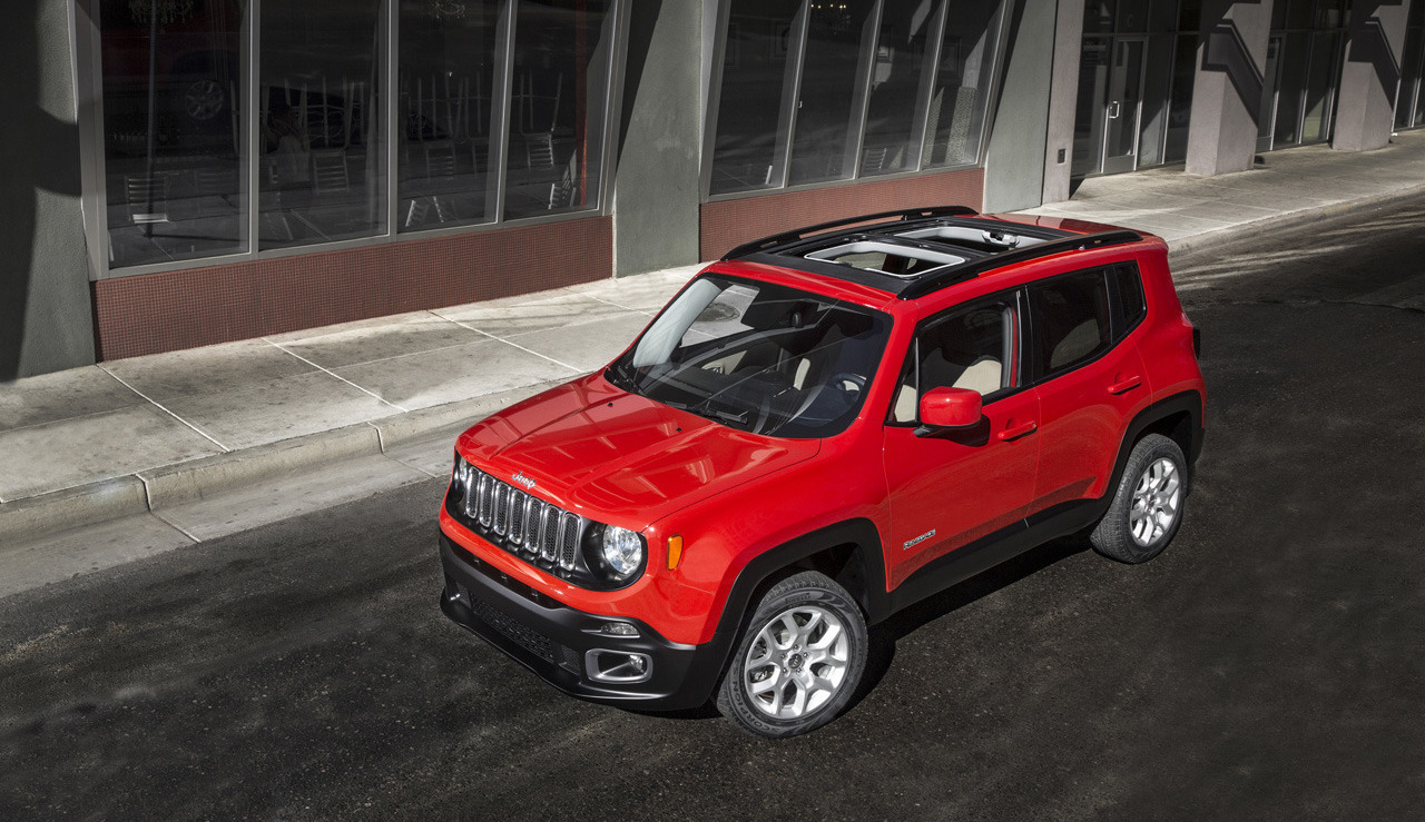 2015 Jeep Renegade First Vehicle To Blend Jeep And Fiat Design