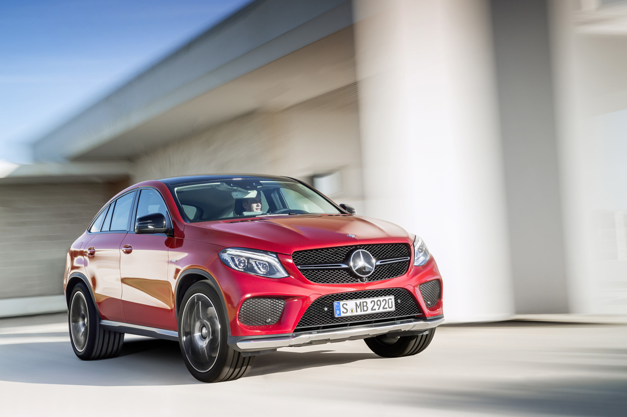 Mercedes-Benz GLE Coupe Unveiled
