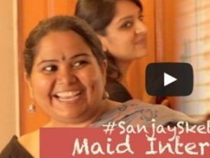 This Funny Sketch Captures What It's Like To Hire A Maid In India