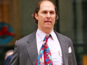 Matthew McConaughey's New Look Is Not Alright, Alright, Alright...