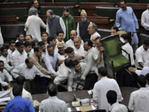 High Drama Over Truck Attack, Opposition Walks Out Of J&K Assembly