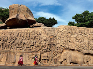 Rock Sculptures Of Mahabalipuram: A Love Song To The Past