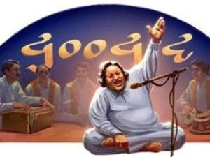 Google Honours Legendary Pakistani Singer Nusrat Fateh Ali Khan With Exquisite Doodle