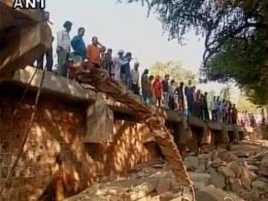 Bhopal Bridge Collapse Kills 2, Injures 1