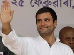 WATCH: Rahul Gandhi Asks Is 'Make In India' Working? Students Shout Yes!