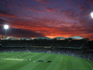 In Pictures: A Stunning Sunset Marks The First-Ever Day-Night Test Match