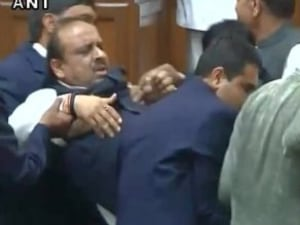 Delhi Assembly Sees High Drama After BJP MLA, Vijender Gupta, Forced Out
