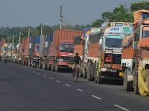 Indian Trucks Enter Nepal For The First Time In Four Months