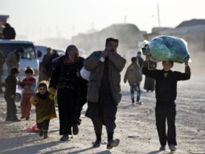 Thousands Of Syrians Flee Aleppo Offensive