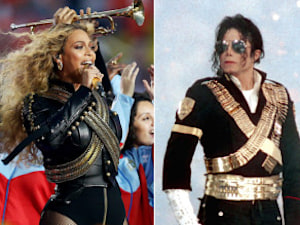 Beyonce's Super Bowl Nod To The King Of Pop Michael Jackson