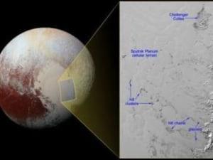 Pluto Has Icebergs, NASA Reveals