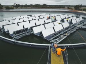 Floating Solar Panel System Changes The Energy Game For Communities Affected By Drought