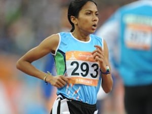 South Asian Games: Indian Runner Kavita Raut Wins Gold, Qualifies For Rio Olympics