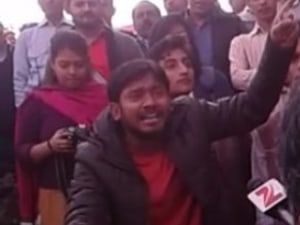 Watch JNUSU President's Fiery Speech Before Arrest: We Believe In India's Constitution