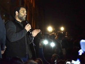 Rahul Gandhi Visits JNU, Accuses Government Of Suppressing Students' Voices