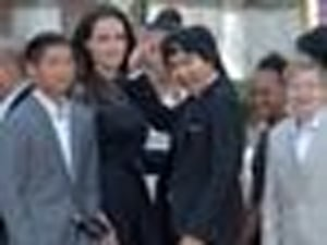 Angelina Jolie And Kids Make First Public Appearance Since Her Split From Brad Pitt