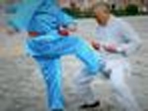 Kung Fu Master With Iron Crotch Is One Ballsy Martial Artist