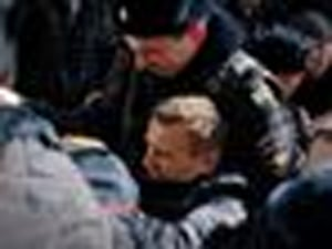 Russia Detains Opposition Leader Navalny Amid Nationwide Protests