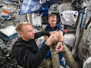 Experiment will find out why astronauts feel weak back on Earth