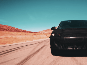 Catch the first glimpse of Faraday Future's production EV