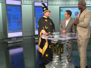 Best of Late Night TV: Brie Larson's Whisper Challenge and James Corden's NFL Invasion
