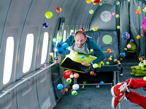 OK Go flies in zero G for its latest music video